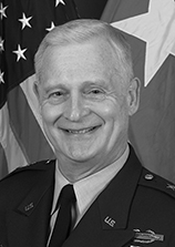 Major General James W  Comstock   Department of Military Science
